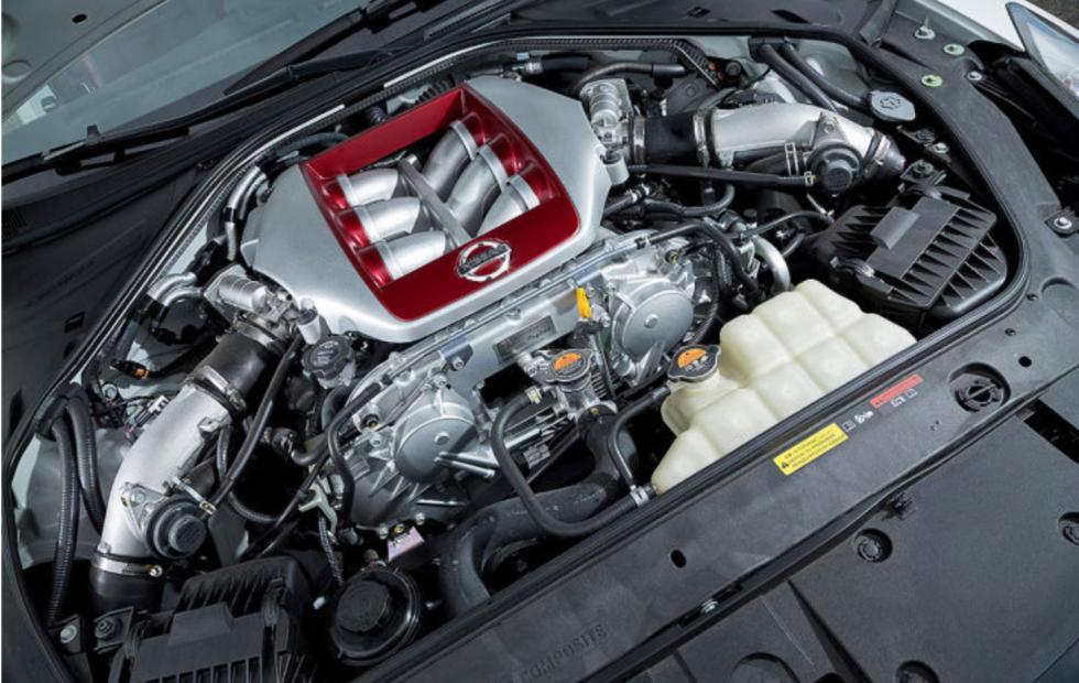 Motor Nissan GT-R