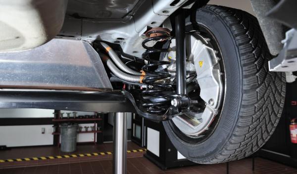 El tamaño de las ruedas no se ve afectado por los motores