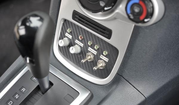 Cuadro de mandos del Ford Fiesta eWheelDrive