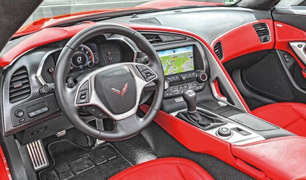 Corvette C7 Stingray interior
