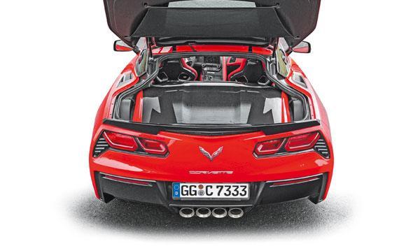 Corvette C7 Stingray maletero