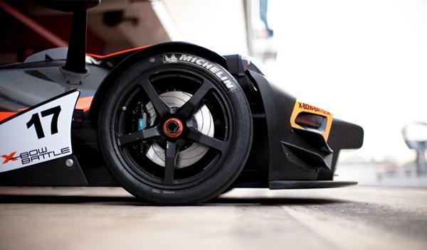 KTM con neumáticos MICHELIN