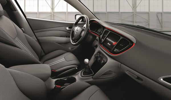 Dodge Dart Blacktop interior