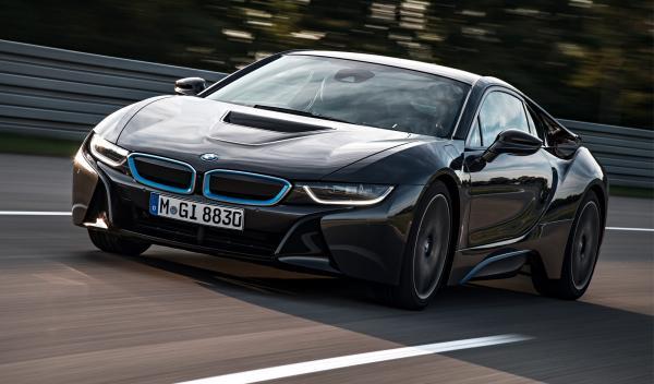 BMW i8 Salon de Detroit