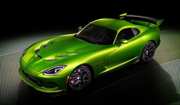 SRT Viper Stryker Green, NAIAS 2014