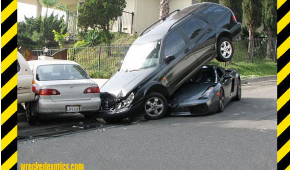 Lamborghini estrellado