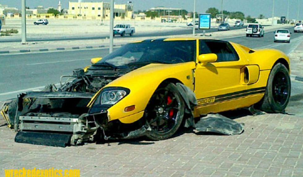 Ford GT estrellado