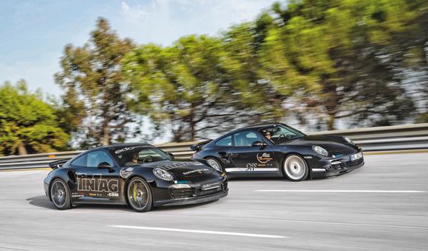 velocidad máxima Porsche 9ff
