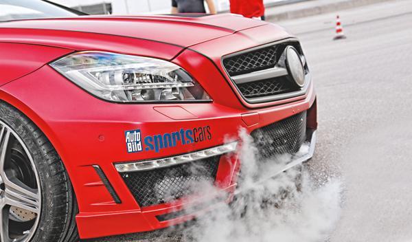 capó Mercedes CLS 63 AMG