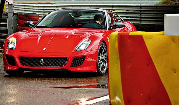 Ferrari 599 GTO frontal