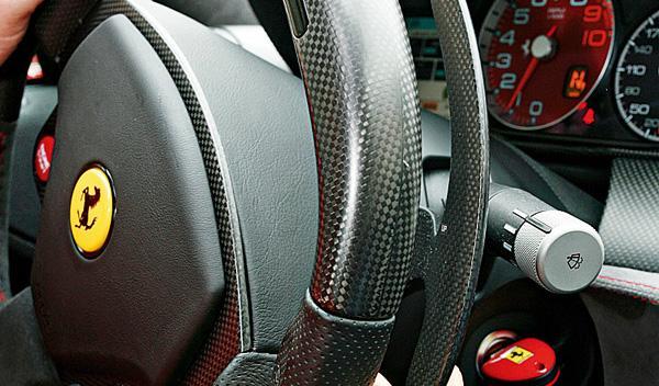 Ferrari 599 GTO levas
