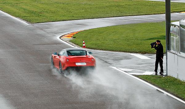 Ferrari 599 GTO circuito