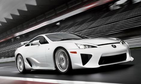 Fotos: Lexus lanza el superdeportivo LFA