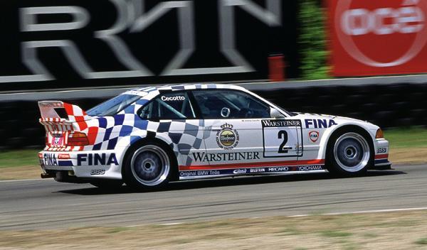 Johnny Cecotto ganó la ADAC GT Cup en 1993