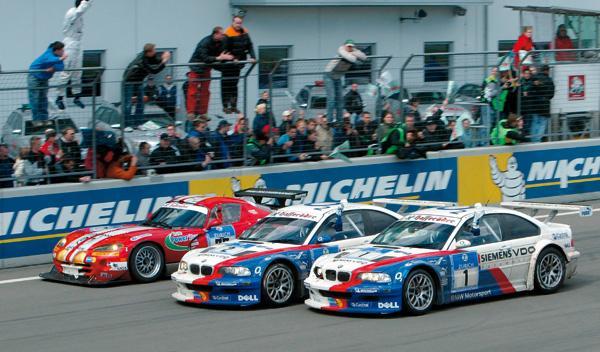 Las 24 Horas de Nürburgring de 2005 también vieron el éxito del M3