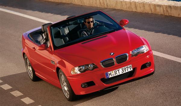 El M3 de la tercera generación tenía asientos deportivos y cinturones integrados