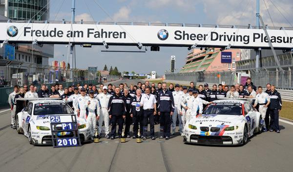 En 2010, ha logrado el éxito en las 24 Horas de Nürburgring