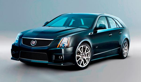 Fotos: El debut del Cadillac CTS-V Sport W