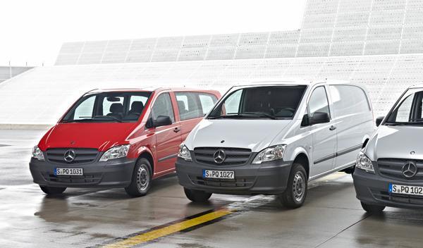Las versiones Furgón, Mixta y Combi tienen diferentes reglajes de suspensión par