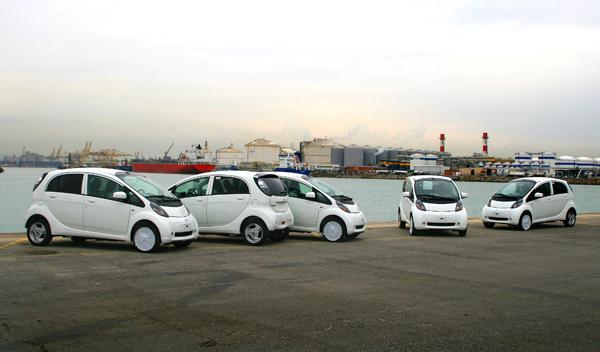 Fotos: El Mitsubishi i-MiEV europeo llega a territorio espa