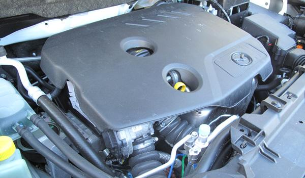 El nuevo motor CRTD de 1,6 litros rinde 115 CV