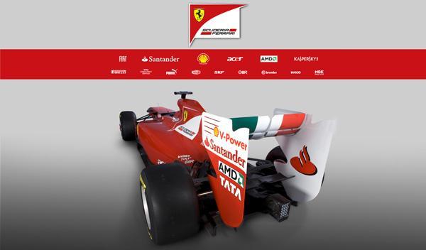 Ferrari F150 3/4 trasero