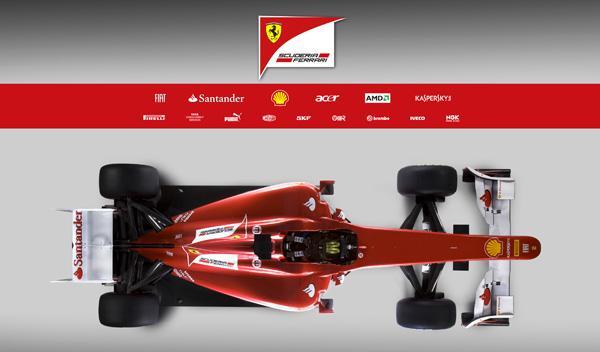 Ferrari F150 cenital