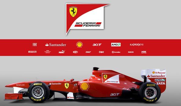 Ferrari F150 lateral