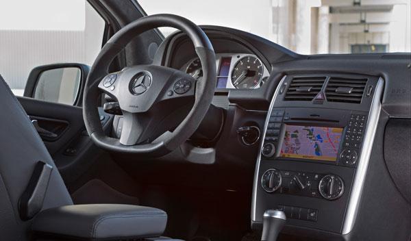 Mercedes B 55 interior