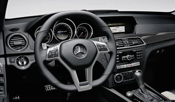 Mercedes C 63 AMG interior