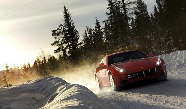 Ferrari FF frontal