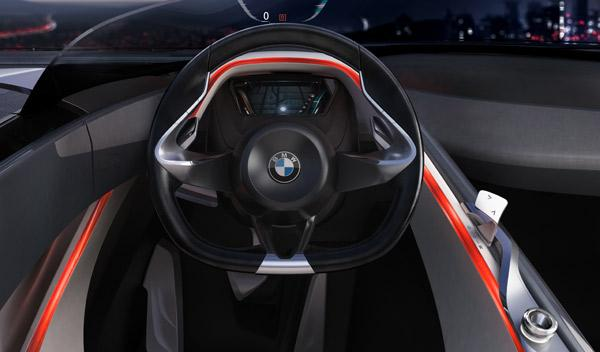 BMW Vision ConnectedDrive interior