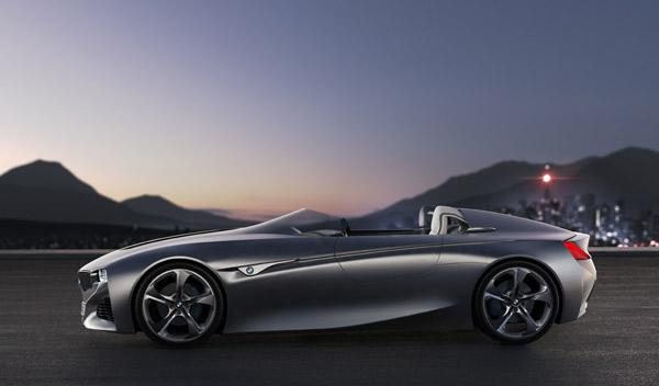 BMW Vision ConnectedDrive lateral
