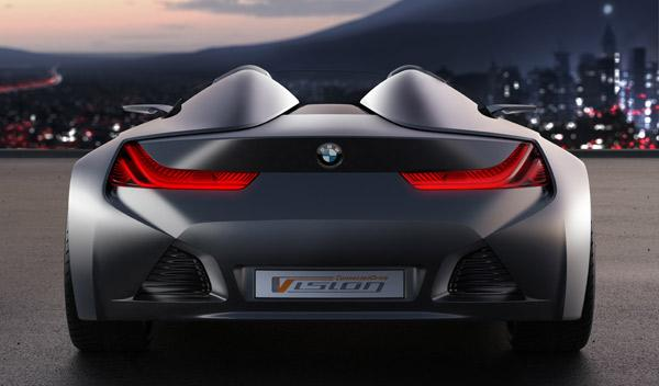 BMW Vision ConnectedDrive trasera