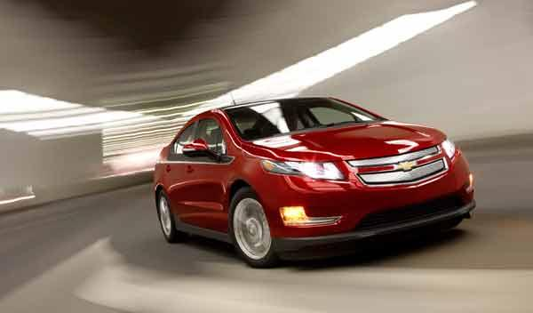 Chevrolet Volt frontal