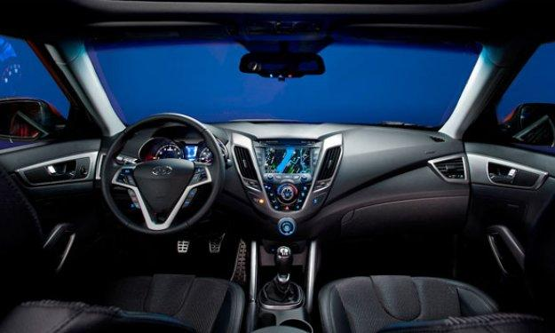 Hyundai Veloster salpicadero
