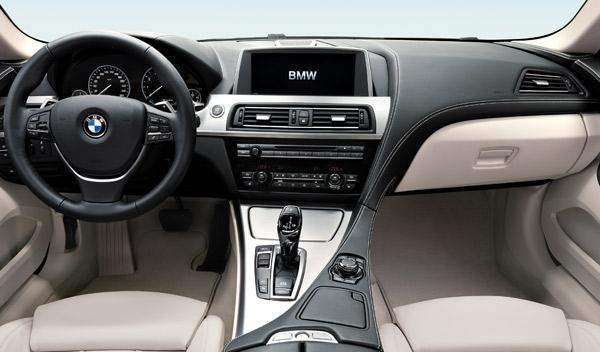 BMW Serie 6 Coupé salpìcadero