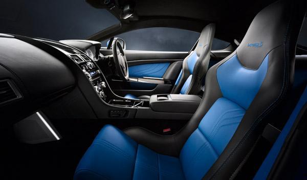 Aston Martin V8 Vantage S interior