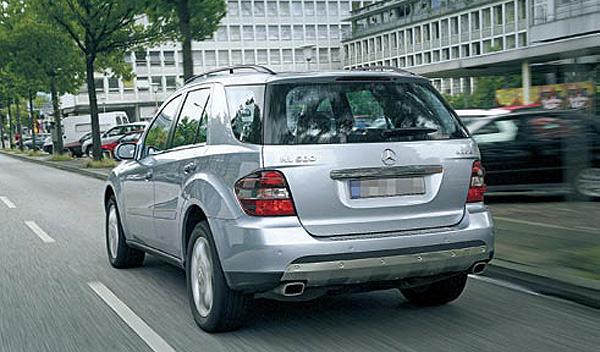 Mercedes ML SUV segunda mano v8