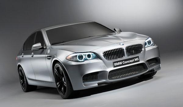 BMW M5 concept motor v8 600 cv