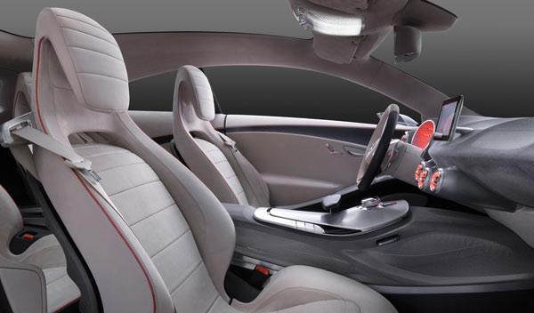 Prototipo Mercedes Clase A interior