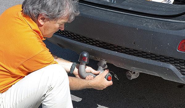 bola de remolque Kia Sorento remolque SUV todoterreno diésel
