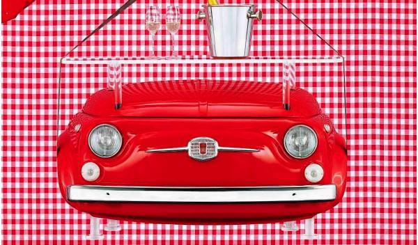 Fiat 500 Design Collection Consola 'Cheers'