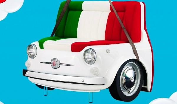 Fiat 500 Design Collection Sofá 'Panorama'
