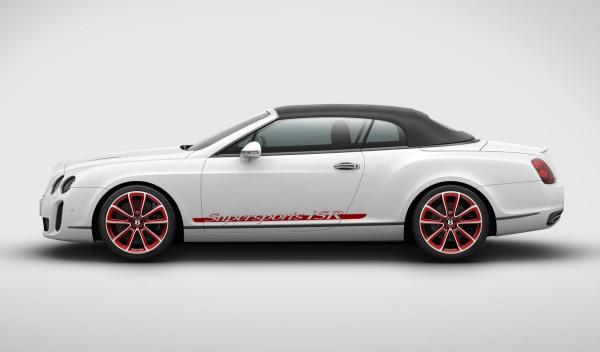 Bentley Continental Supersports Convertible ISR capotado