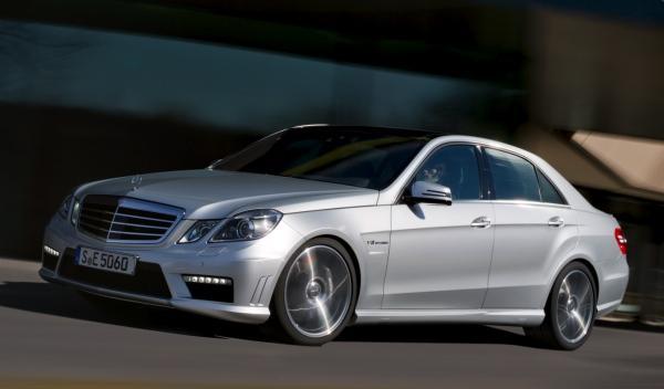 Mercedes Clase E 63 AMG V8 Biturbo frontal