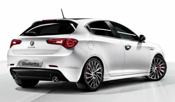 Alfa Romeo Giulietta trasera