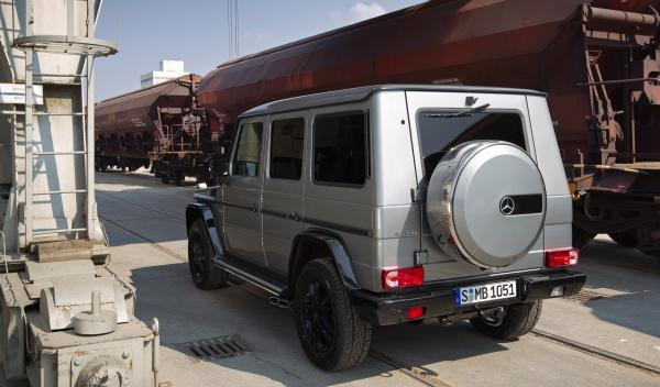 Mercedes Clase G BA3 Final Edition trasera