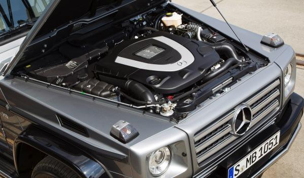 Mercedes Clase G BA3 Final Edition motor