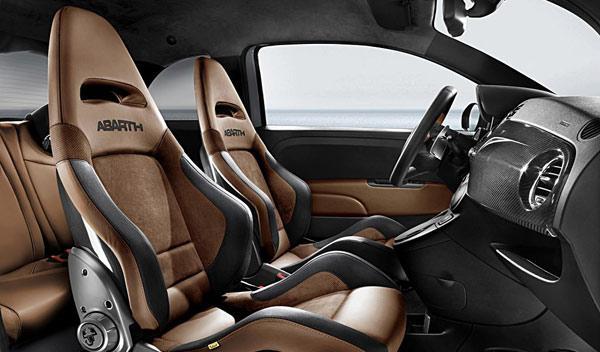 Abarth Tributo Ferrari interior